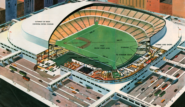 50 Years Of Dodger Stadium The Plans And The Battle Of