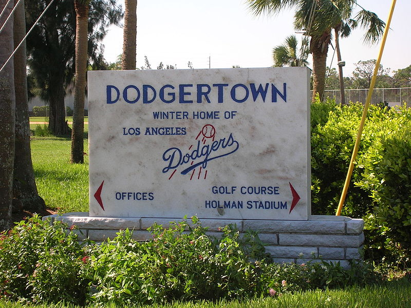 Dodgers Training Camp Vero Beach