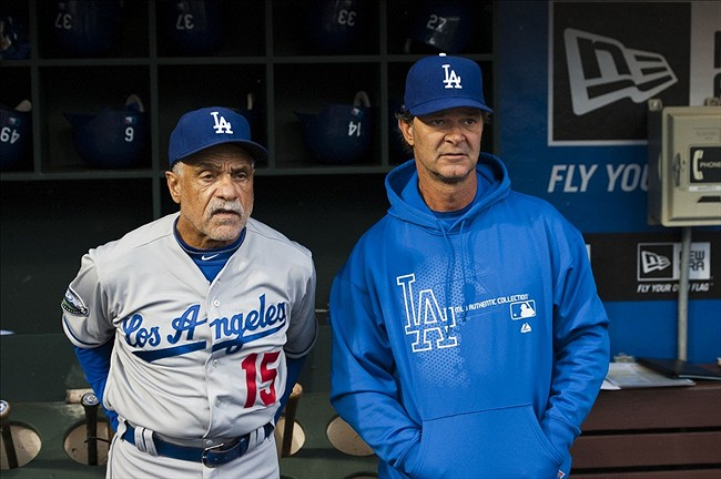 The 2013 Dodgers Coaching Staff