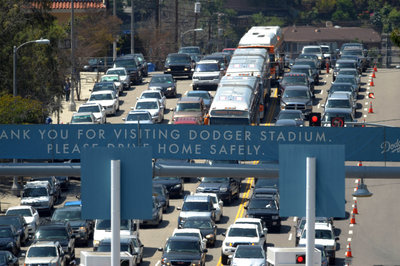 Dodgers Raise Parking Back to $15 Unless Pre-Paid