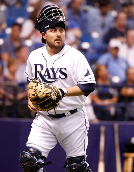 d0bc127e5cb Andrew Friedman adds another former Rays player to the Dodgers organization  with catcher Ali Solis. Photo  Kim Klement-USA TODAY Sports