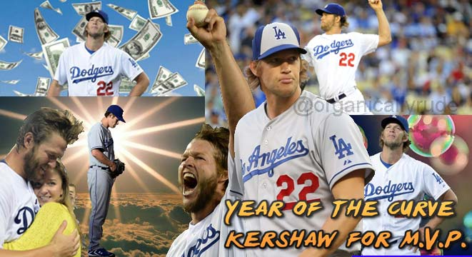 Clayton Kershaw Has Magical Year Photoshop By Stacie Wheeler