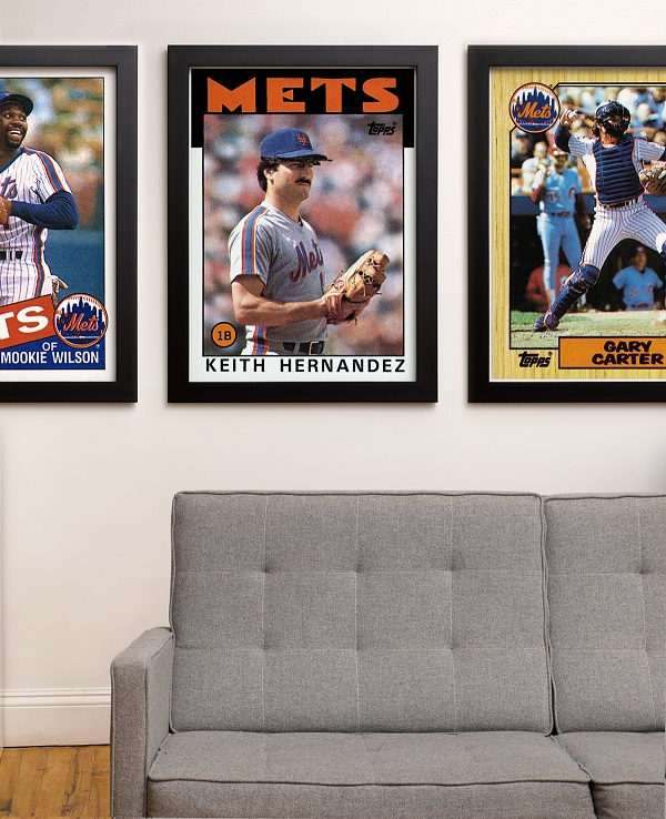 Topps Mlb Archive Prints Capture Iconic Baseball Card Designs