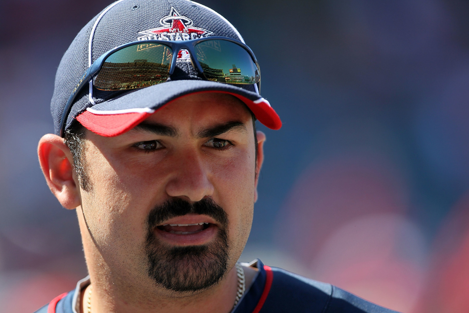 Adrian Gonzalez dismisses idea of starting season with All-Star game