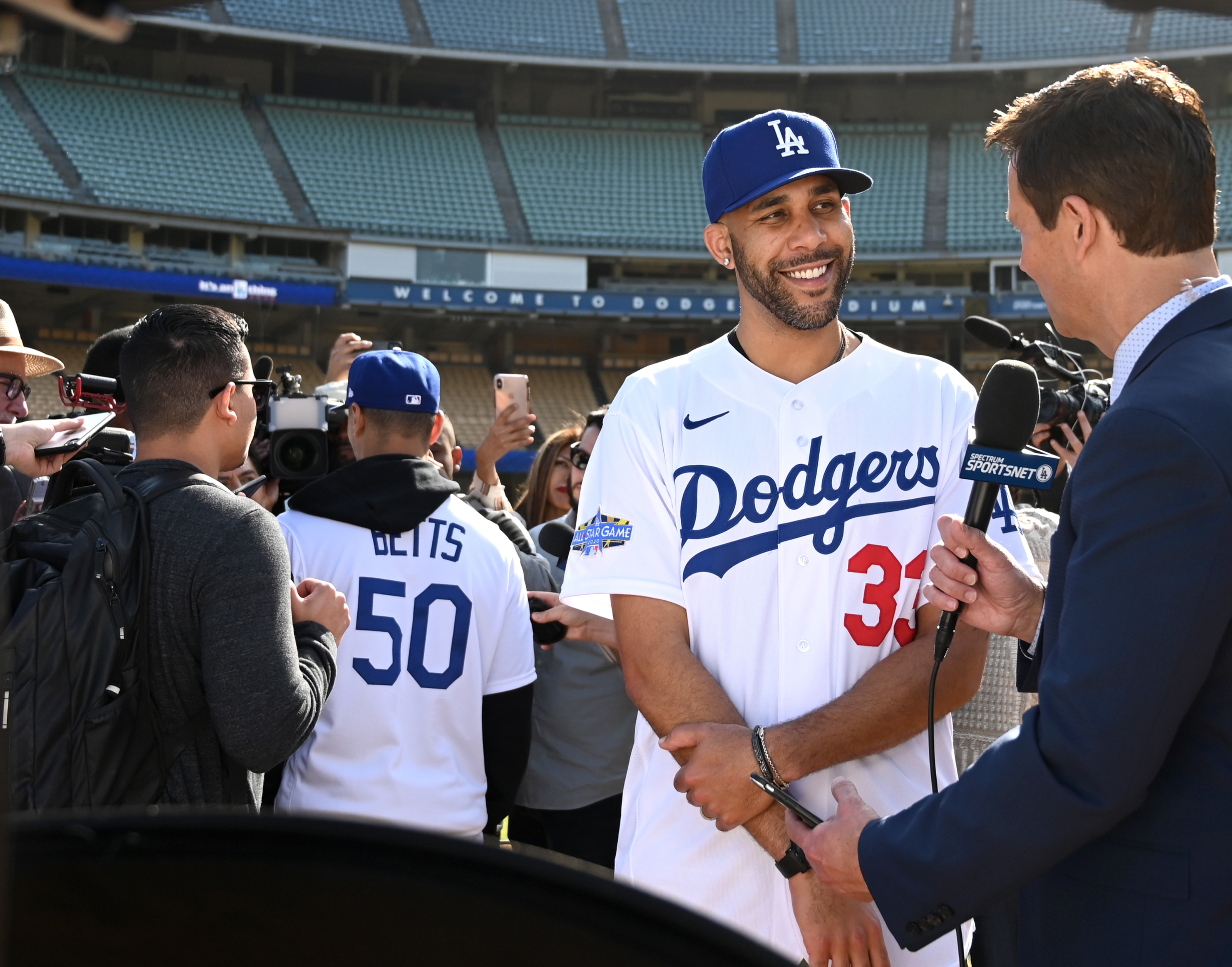 Dodgers David Price Didn T Want Uniform Number To Send Wrong Message