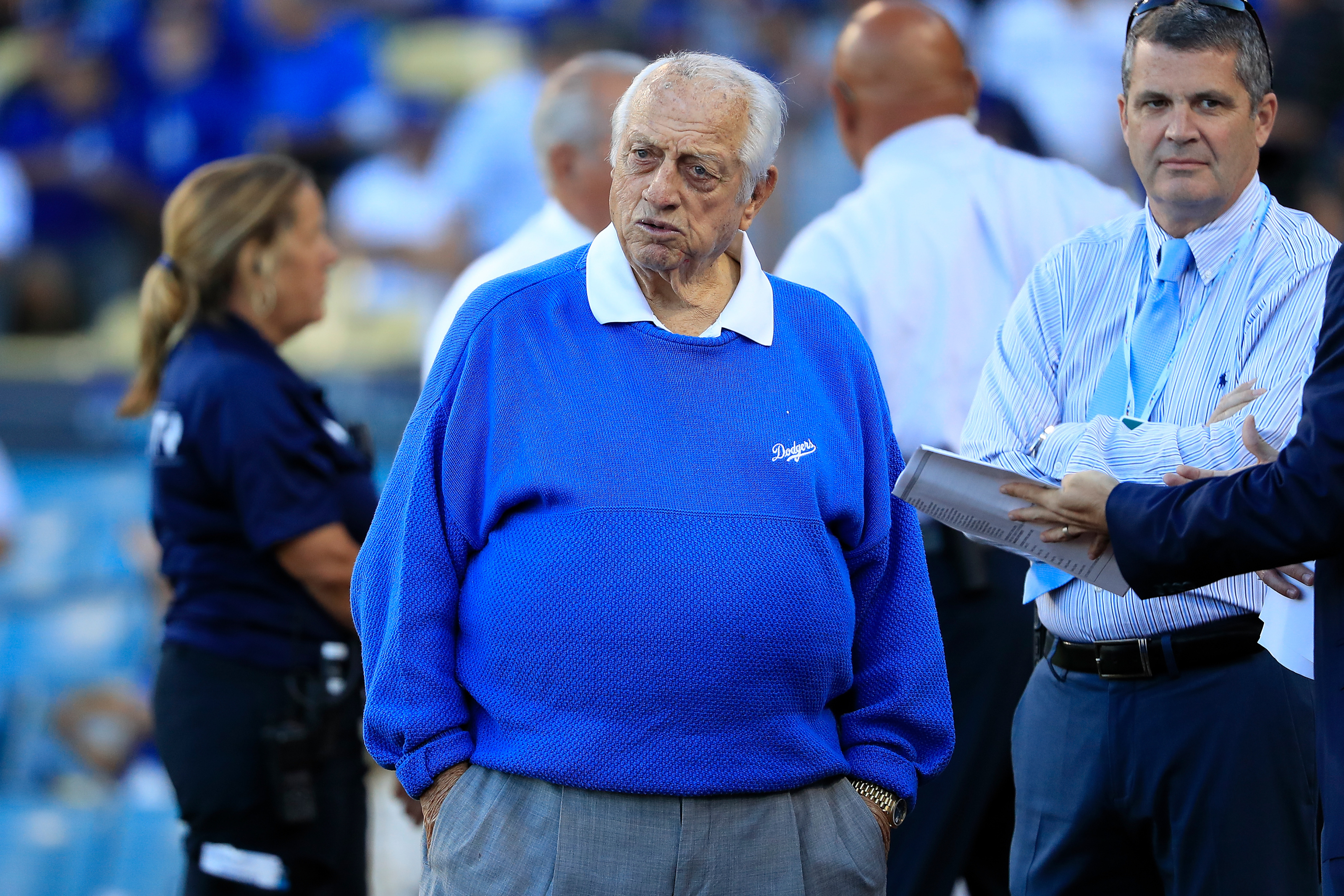 Dodgers Legend Tommy Lasorda Hospitalized And In Intensive Care